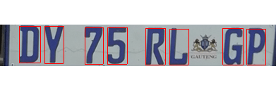License Plate Detection & Segmentation