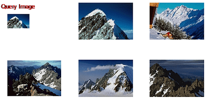 Content Based Image Recognition