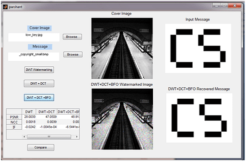 Image Watermarking GUI